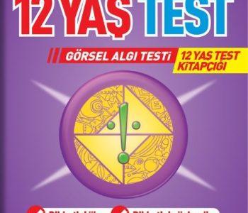 12 Yaş Test Görsel Algı Seti / 12 Yaş Test Kitapçığı