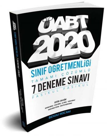 2020 ÖABT Sınıf Öğretmenliği Tamamı Çözümlü 7 Fasikül Deneme