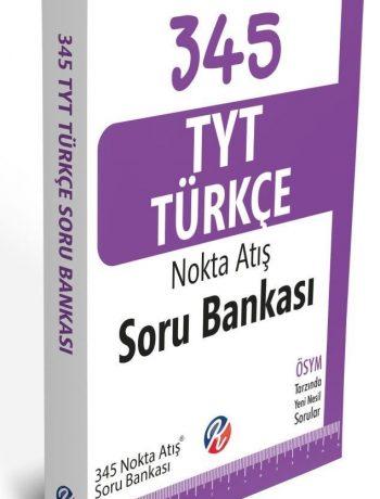 345 TYT Türkçe Nokta Atış Soru Bankası