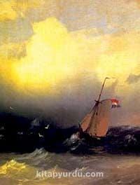 Denizde Fırtına-1847 / Ivan Konst. Aivazovsk (AIK 011-30x40) (Çerçevesiz)