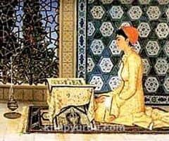 Kur'an Okuyan Kız / Osman Hamdi Bey (OHB 010-50x60) (Çerçevesiz)