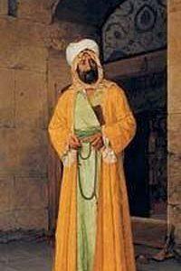 Rüstem Paşa Camii Önünde / Osman Hamdi Bey (OHB 004-40x80) (Çerçevesiz)